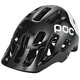 POC Tectal Race Helmet uranium black/hydrogen white